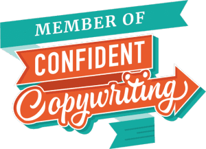 Proud member of Confident Copywriting